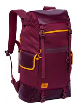 "Picture of RivaCase 5361 Dijon burgundy red 30L Laptop backpack 17.3"" Σακίδιο πλάτης Μπορντώ"