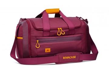 Εικόνα της RivaCase 5331  Dijon burgundy red 35L Duffle bag Σακβουαγιάζ Μπορντώ