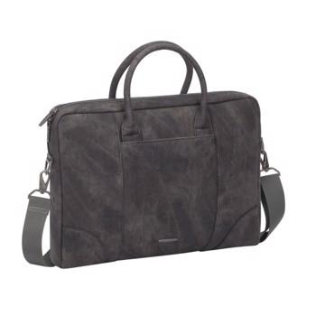 """Εικόνα της RivaCase Vagar 8922 grey slim Laptop bag 13.3-14"""" Τσάντα μεταφοράς Laptop Γκρι"""