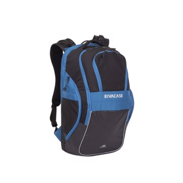 "Picture of RivaCase 5225 Mercantour black/blue 20L Laptop backpack 15.6"" Σακίδιο πλάτης Μαύρο-Μπλε"