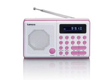 Εικόνα της LENCO RADIO MPR-034 PINK Φορητό ραδιόφωνο