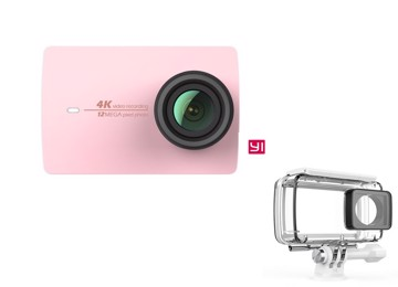 Picture of YI 4K Action Camera Waterproof Case Set Rose Gold
