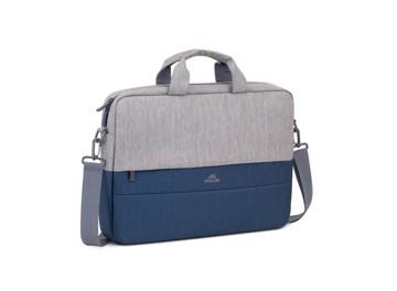 Picture of RIVACASE 7532 Plater Αντικλεπτική τσάντα χειρός λάπτοπ 15,6'', γκρι/σκούρο μπλέ